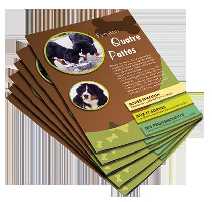 Brochure pension canine
