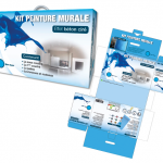 Packaging kit de peinture