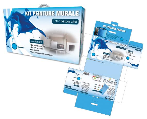 Packaging kit de peinture
